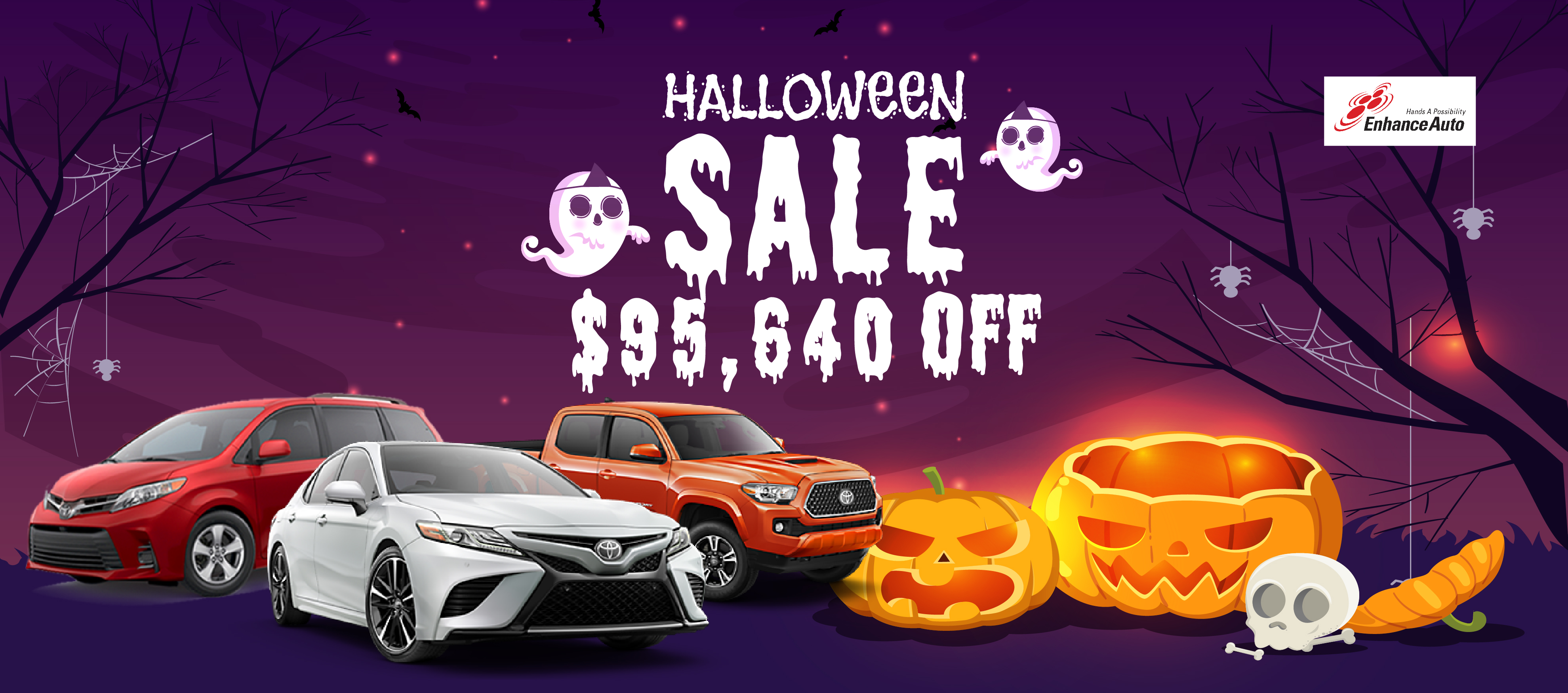 HALLOWEEN SALE!  TOTAL【$95,640】DISCOUNT!!